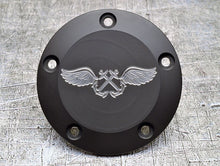 Harley Davidson custom engraved points covers with Navy insignia 09