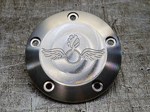 Harley Davidson custom engraved points covers with Navy insignia 04