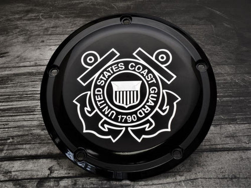 Coast Guard Harley Davidson Derby Cover