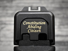 Milspin Constitution Abiding Citizen Slide Back Plate