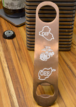 MILSPIN engraved bottle openers make the perfect gift for USMC members