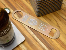 engraved bottle openers for first responders by MILSPIN