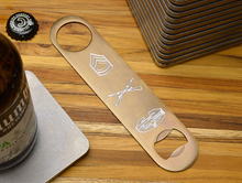MILSPIN personalized bottle opener