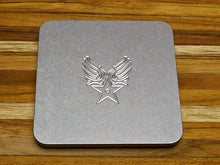 bar accessories custom engraved drink coasters