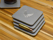 drink coasters with Air Force insignia