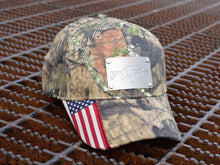Milspin Police/Fire/EMS Custom Engraved Machined Metal Plate Hat (Select 1 Emblem)