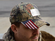 Patriot: Hat w/ Custom Engraved Metal Patch (Select 1 Emblem)
