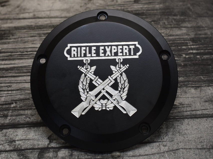 Expert Rifle Badge Derby Cover