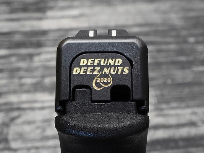 Milspin Defund Deez Nuts Slide Back Plate