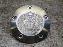 Harley Davidson points cover with engraved insignia by Milspin 04