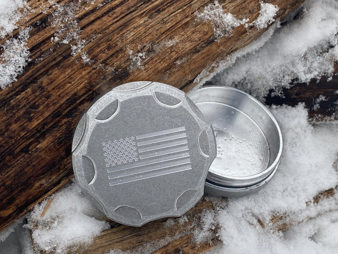 Milspin U.S. Flag All-Weather Canister
