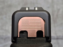 custom engraved glock back plates with insignia from MILSPIN