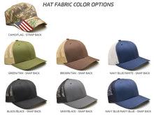 U.S. Army: Hat w/ Custom Engraved Metal Patch (Select 1 Emblem)