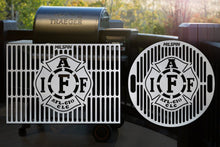 Milspin IAFF Custom Engraved Grill Grate