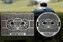 Milspin Airborne Wings Custom Grill Grate