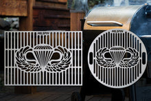 Milspin Airborne Wings Custom Designed Grill Grate