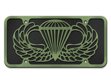 Jump Wings Custom Engraved License Plate