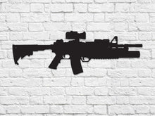 Milspin M4 Carbine with M203 Steel Cut Out