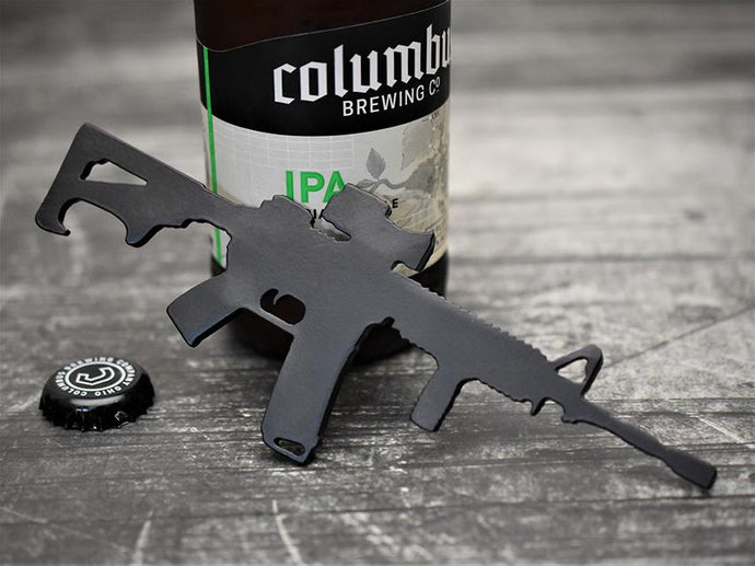 MILSPIN custom designed M4 bottle opener
