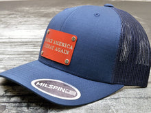 MILSPIN custom engraved hats