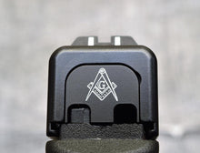 Masonic Slide Back Plate