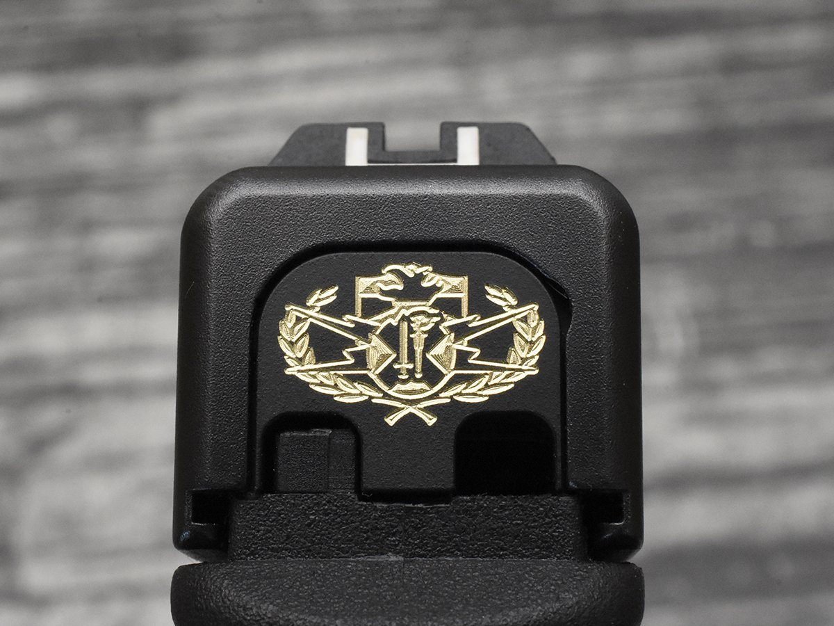 NCETR Crab Glock Slide Back Plate