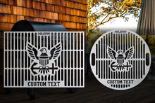 Milspin U.S. Navy Custom Engraved Grill Grate