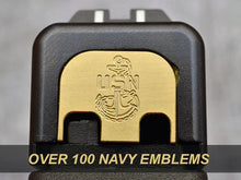Navy Glock plate back cover