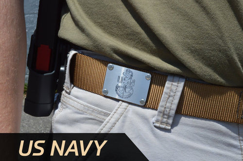 U.S. Navy Custom Engraved Cobra® EDC Tactical Belt