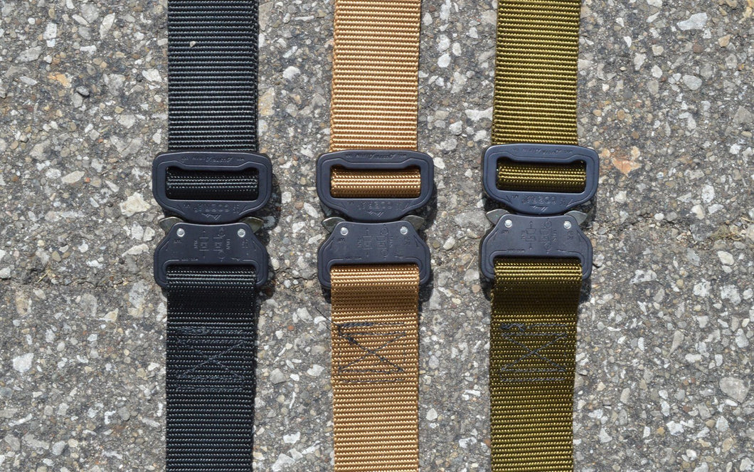 MILSPIN custom tactical belt