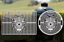 Milspin Custom designed  Police Badge Grill Grates