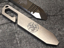 Milspin EDC Pry Bar USMC Engravings (Over 100 Emblems)
