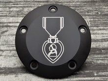 Custom USMC Harley Davidson Points Cover (Over 100 USMC Emblems)