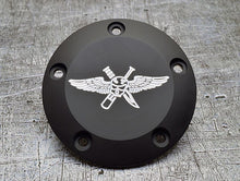 Harley Davidson custom engraved points covers with USMC insignia 05