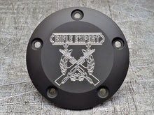 Harley Davidson custom engraved points covers with USMC insignia 02