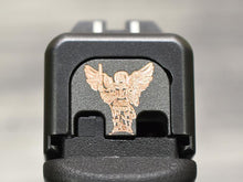 Saint Michael Archangel Slide Back Plate