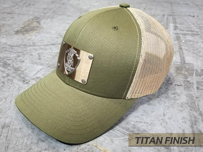 Milspin SAW Machined Metal Plate Hat