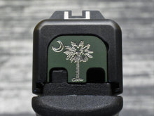 South Carolina Flag Glock Slide Back Plate