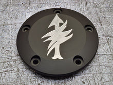 Harley Davidson custom engraved points cover with scout sniper insignia