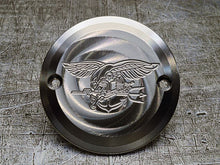 Harley Davidson custom engraved points covers with Navy insignia 07