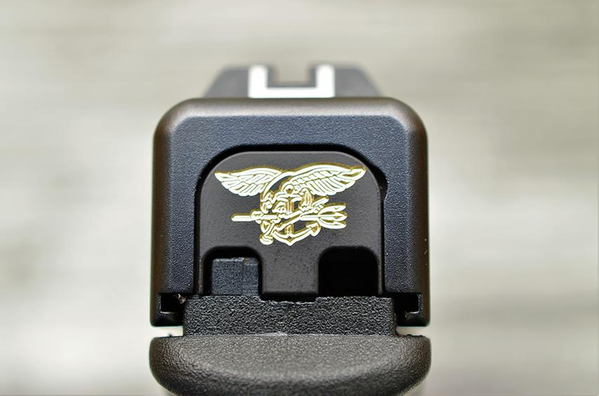 Navy Seal Trident Slide Back Plate