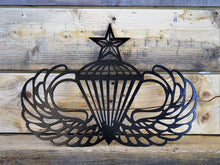 Jump Wings Steel Cut Out