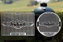 Milspin Submarine Warfare Enlisted Custom Grill Grate