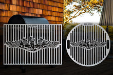 Milspin Submarine Warfare Enlisted Custom Designed Grill Grate