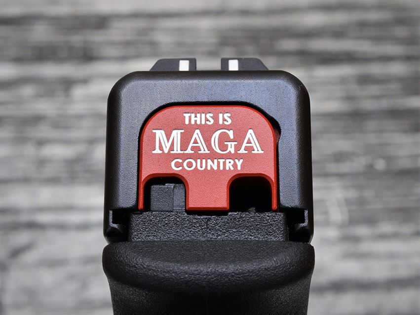 This is MAGA Country Slide Back Plate