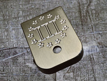 MILSPIN engraved magazine base plate with Patriotic insignia 04