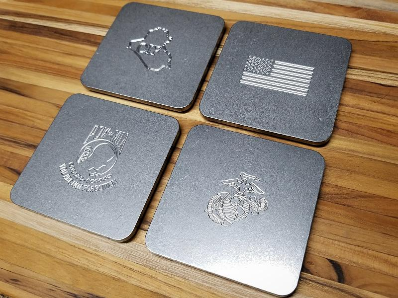 drink coasters customized bar supplies
