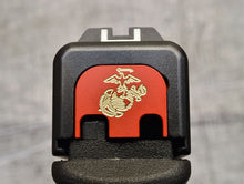 Milspin USMC Slide Back Plates (Over 100 USMC Emblems)