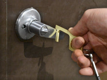 The Original Milspin Anti-Microbial Brass Covid Key