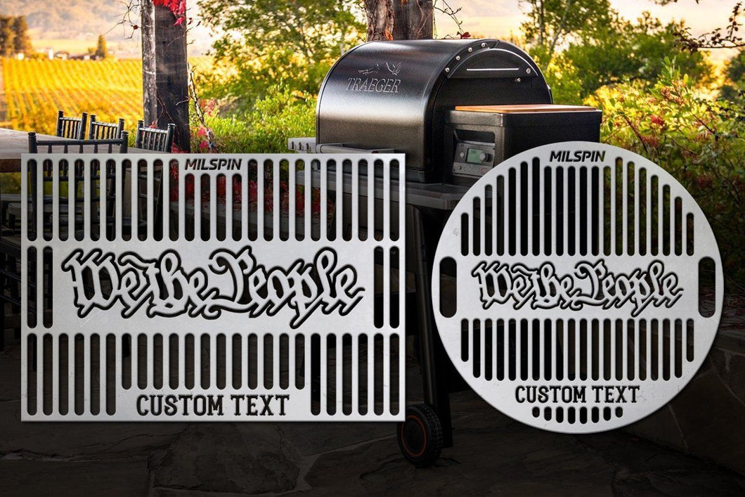 Milspin We The People Custom Grill Grate